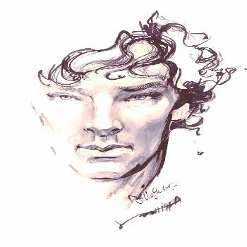 Image result for Johnlock fan artYou can...